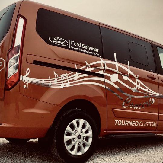 Tourneo Custom autódekor